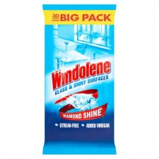 Windolene Window Cleaner Wipes x30