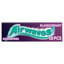 Wrigleys Airwaves Blackcurrant 10 Piece