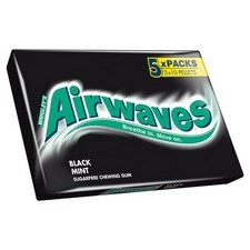 Wrigleys Airwaves Blackmint 5 Pack