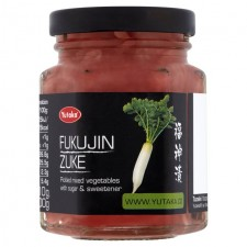 Yutaka Fukujinzuke Mixed Vegetable Japanese Pickles 110g