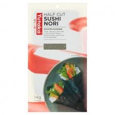 Yutaka Sushi Nori Half Cut 10 sheets 14g