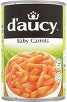 D'aucy Baby Carrots 400g