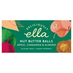 Deliciously Ella Apple Cinnamon and Almond Nut Butter Balls 2 Pack