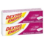 Dextro Energy Blackcurrant Energy Tablets 2 Pack
