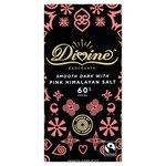 Divine 60% Dark Chocolate with Pink Himalayan Salt 90g