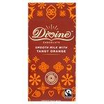 Divine Milk Chocolate with Tangy Orange Bar 90g