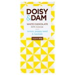 Doisy and Dam Lemon Poppy Seed and Baobab 30% White Chocolate 80g