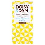 Doisy and Dam Lemon Poppy Seed and Baobab 30% White Chocolate 80g