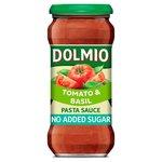 Dolmio Pasta Sauce Tomato and Basil No Added Sugar 350g