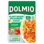 Dolmio Vegan Meat Free Bolognese Sauce Fragrant Basil and Carrots 150g