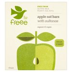 Doves Farm Gluten Free Apple and Sultana Organic Flapjacks 4 x 35g