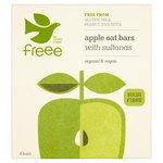 Doves Farm Gluten Free Apple and Sultana Organic Flapjacks 4 x 35g