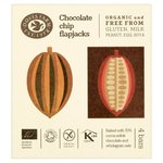 Doves Farm Gluten Free Chocolate Chip Organic Flapjacks 4 x 35g
