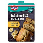 Dr Oetker Bake In Box Banana Chocolate Chip Cake 175G