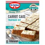 Dr Oetker Carrot Cake Traybake Kit 425g