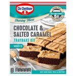 Dr Oetker Chocolate and Salted Caramel Traybake Kit 425g