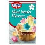 Dr Oetker Mini Wafer Flowers 40 Pack