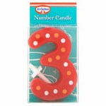 Dr Oetker Spotty Candle Number 3