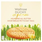 Duchy Organic All Butter Shortbread Petticoat Tails 125g
