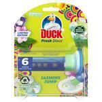 Duck Fresh Discs Toilet Cleaner Jasmine Jump Scent 36ml