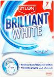 Dylon Brilliant White Laundry Sheets 7 per pack