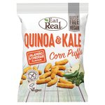 Eat Real Quinoa And Kale Corn Puffs Jalapeno Cheddar Flavour 113g