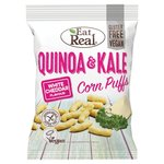 Eat Real White Cheddar Flavoured Quinoa and Kale Corn Puffs 113g