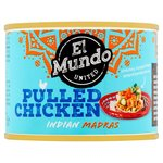 El Mundo United Pulled Chicken Indian Madras 200g