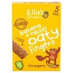 Ellas Kitchen Banana and Raisin Oaty Fingers 5 x 25g