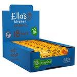 Ellas Kitchen Organic Banana Raisin Fruit and Oat Bars 18 x 25g