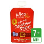 Ellas Kitchen Organic Jingle Belly Christmas Dinner 7 Months 130g