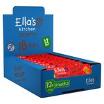 Ellas Kitchen Organic Strawberry Apple and Oat Bars 18 x 25g