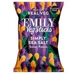 EMILY Veg Crisps Sweet Potato Sticks Sea Salt 35g