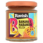 English Provender Ravish Banana and Habanero Relish 200G