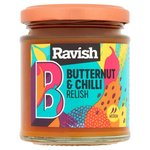 English Provender Ravish Butternut and Chilli Relish 195G