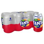 Fanta Fruit Twist Zero 8 X 330ml Cans