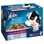 Felix As Good As It Looks Doubly Delicious Country Recipes in Jelly 12 x 100g