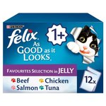 Felix As Good as it Looks Favourites Pouches 12 x 100g