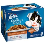 Felix As Good As It Looks Meat Selection in Jelly 12 x 100g