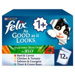 Felix As Good As It Looks Veg Selection in Jelly 12 x 100g