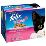 Felix Kitten Mixed Selection in Jelly 12 x 100g