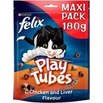 Felix Play Tubes Cat Treats Chicken and Liver 180g