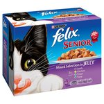 Felix Senior Mixed Selection in Jelly 12 x 100g