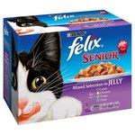 Felix Senior Mixed Selection in Jelly 12 x 100g
