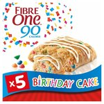 Fibre One Birthday Cake Squares 5 Pack