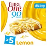 Fibre One Lemon Drizzle Squares 5 Pack