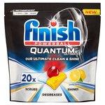Finish Quantum Ultimate Lemon Dishwasher Tablets x 20
