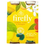 Firefly Lemon Lime and Ginger 4 x 250ml
