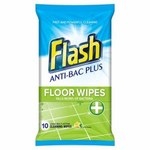 Flash Anti-Bacterial Floor Wipes 10 per pack
