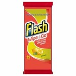 Flash Wipe and Go Wipes Lemon 40 Pack